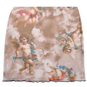 Cherub Baby Angel mini skirt